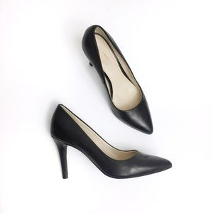 Cole Haan Grand.OS Eliza Pointy Toe Leather Pump